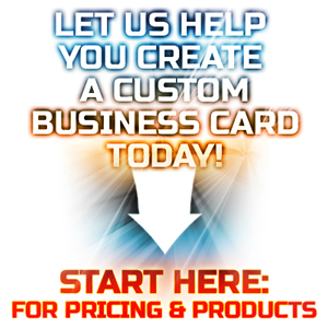 Start here for a business card quote
