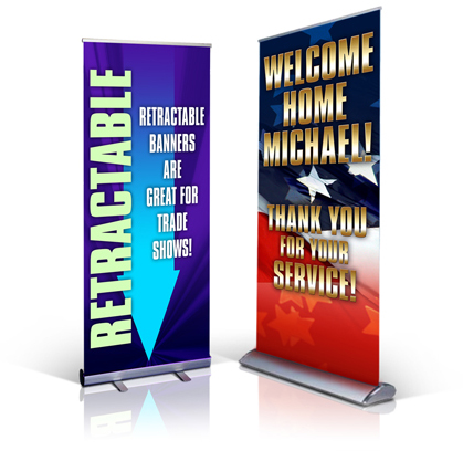 Vinyl Banner  Retractable Banner Stand Printing In St Louis - Vinyl banners design