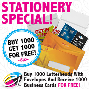 Stationery and Envelope Special