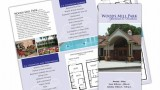 Real Estate tri-fold brochure for leasing business