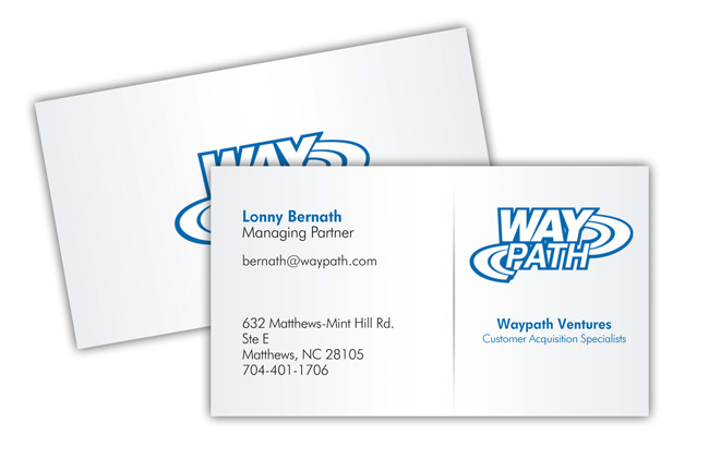 Business card layout update logo to high res graphic file printed