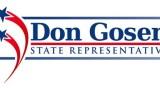 Don Gosen for State Representative-logo design for polotician