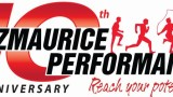 Fitzmaurice Performance 10th anniversary business logo design, two logos