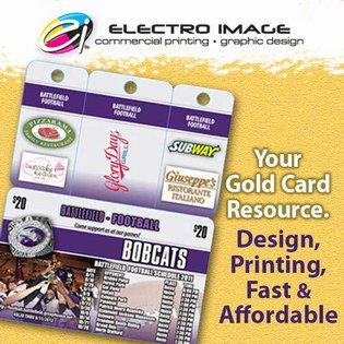 Featured project: 3 Key Tag Fundraising Discount Cards with 3 detachable key tags