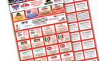 48 Coupons - Accordion Fold Fundraising Tickets