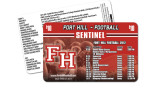 Gift Card-Rounded corners Fort Hill Football