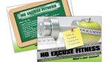 Postcards of any size can be used as self-promotion hand flyers.