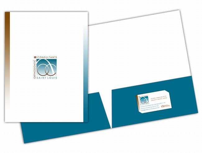 St louis presentation folder printing ocsl printing presentation folders printed 2 color on 12 point matte finish stock wbusiness card slit on right pocket colourmoves