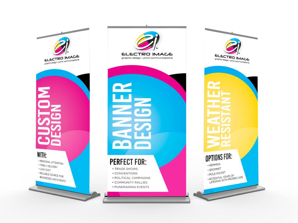 Retractable Banner Stands For Indoor Marketing - Vinyl banners stands